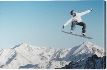 Obraz na płótnie Snowboard sportowe