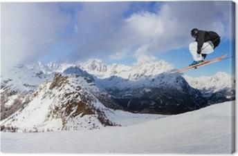Obraz na płótnie Speed ski