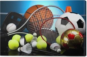 Obraz na płótnie Sprzęt sportowy Assorted