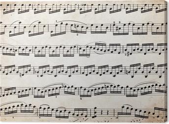 Obraz na płótnie Stare muzycznych gości