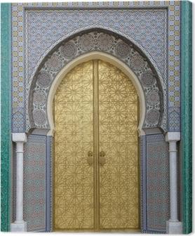 Obraz na płótnie Starożytni drzwi, Maroko