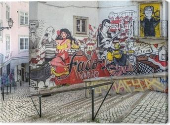 Obraz na płótnie Street Art - Lizbona