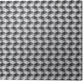 Obraz na Płótnie Streszczenie retro geometryczny wzór czarno-biały kolor tone vect