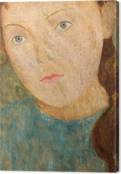 Obraz na płótnie Tadeusz Makowski - Dziewczynka z rudym warkoczem - Reproductions