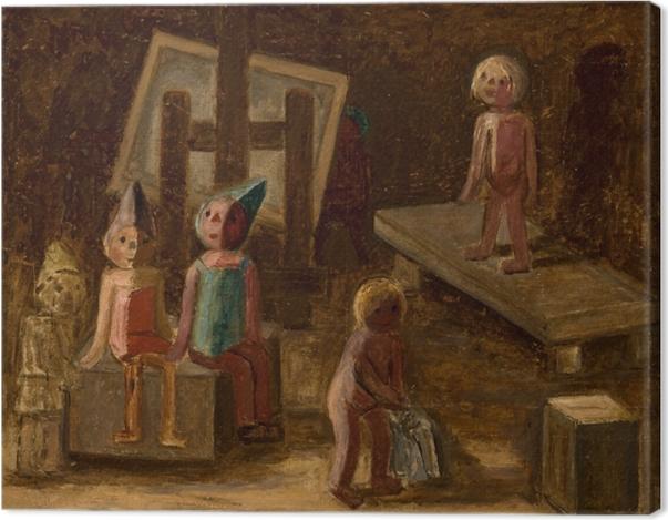 Obraz na płótnie Tadeusz Makowski - Mała modelka - Reproductions