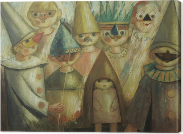 Obraz na płótnie Tadeusz Makowski - Maskarada -