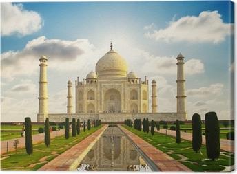 Obraz na płótnie Taj Mahal w Indiach