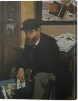 Obraz na płótnie The Collector of Prints