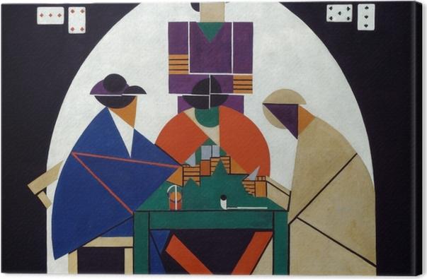 Obraz na płótnie Theo van Doesburg - Grający w karty - Reproductions