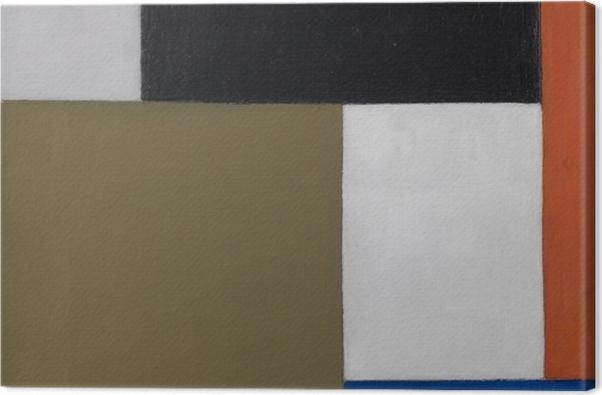 Obraz na płótnie Theo van Doesburg - Kompozycja 1923-1924 - Reproductions