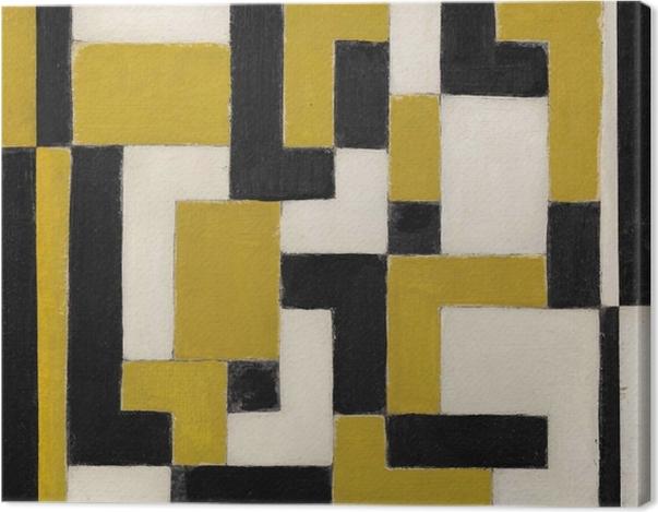 Obraz na płótnie Theo van Doesburg - Kompozycja - Reproductions