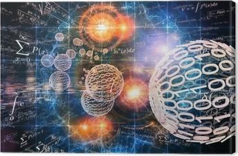 Obraz na płótnie Tło Matematyka