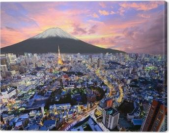 Obraz na płótnie Tokyo i Fuji