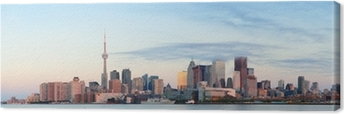 Obraz na płótnie Toronto sunrise