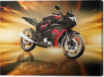 Obraz na płótnie Transport lądowy Transport motocykla Motocykl Elegance Luksusowe