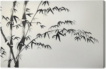 Obraz na płótnie Tusz malowane bambusa