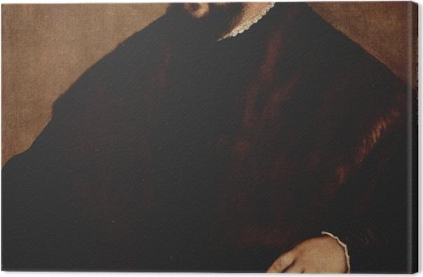 Obraz na płótnie Tycjan - Elektor Saksonii Jan Fryderyk - Reprodukcje