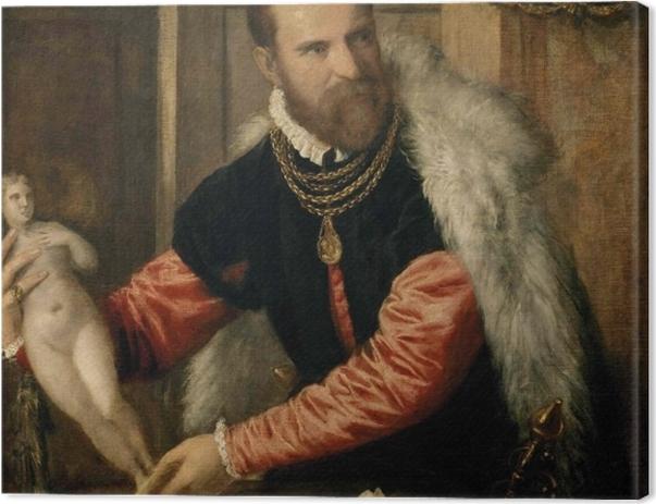 Obraz na płótnie Tycjan - Jacopo Strada - Reprodukcje