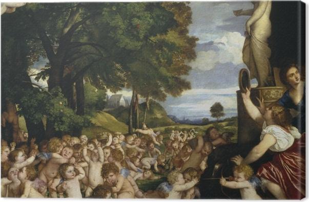 Obraz na płótnie Tycjan - Kult Wenus - Reprodukcje