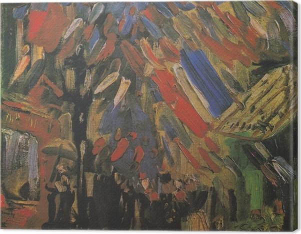 Obraz na płótnie Vincent van Gogh - 14 lipca - Reproductions
