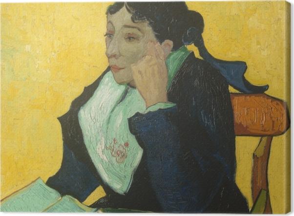 Obraz na płótnie Vincent van Gogh - Arlezjanka - Reproductions