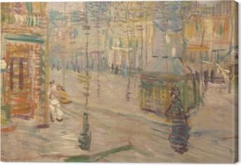 Obraz na płótnie Vincent van Gogh - Boulevard de Clichy