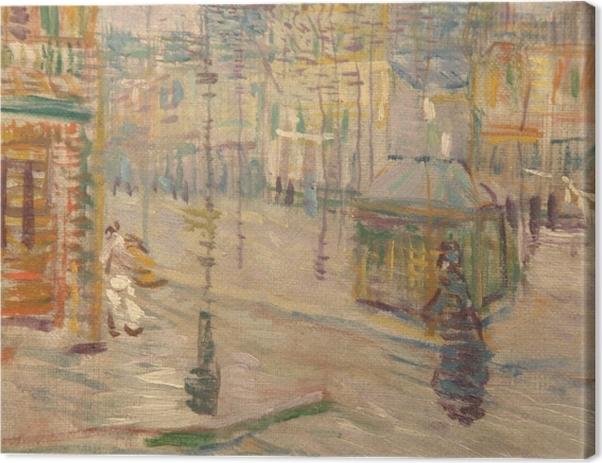 Obraz na płótnie Vincent van Gogh - Boulevard de Clichy - Reproductions