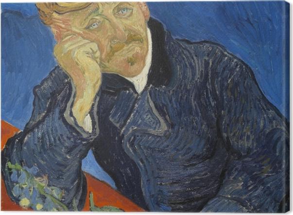 Obraz na płótnie Vincent van Gogh - Dr. Paul Gachet - Reproductions