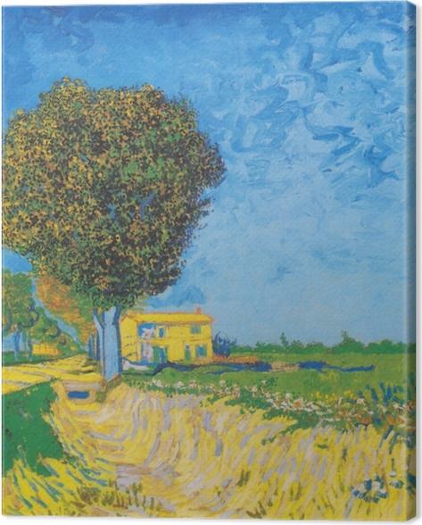 Obraz na płótnie Vincent van Gogh - Droga nieopodal Arles - Reproductions