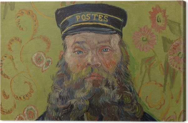 Obraz na płótnie Vincent van Gogh - Joseph-Etienne Roulin - Reproductions