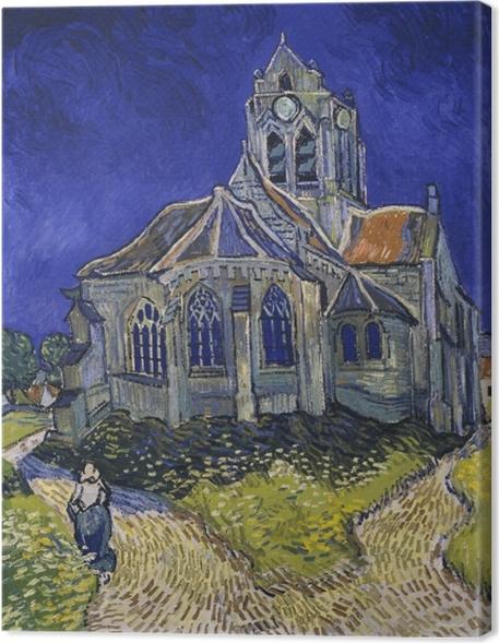 Obraz na płótnie Vincent van Gogh - Kościół w Auvers - Reproductions