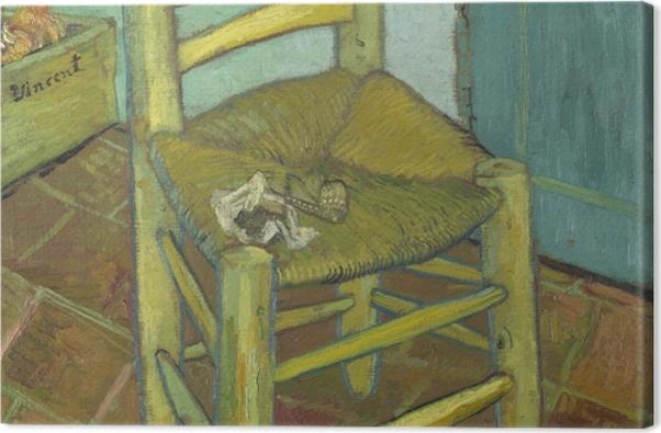Obraz na płótnie Vincent van Gogh - Krzesło Van Gogha - Reproductions