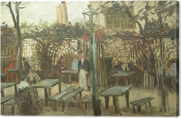 Obraz na płótnie Vincent van Gogh - La Guinguette - Reproductions