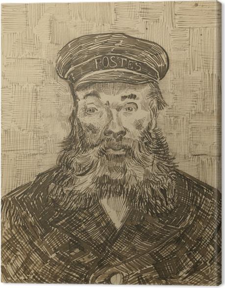 Obraz na płótnie Vincent van Gogh - Listonosz Joseph Roulin - Reproductions