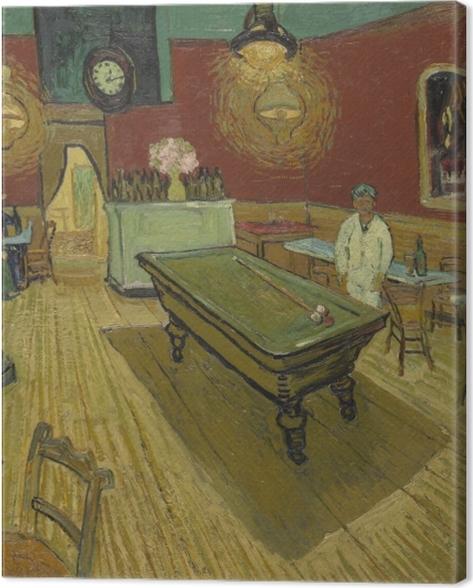 Obraz na płótnie Vincent van Gogh - Nocna kawiarnia - Reproductions