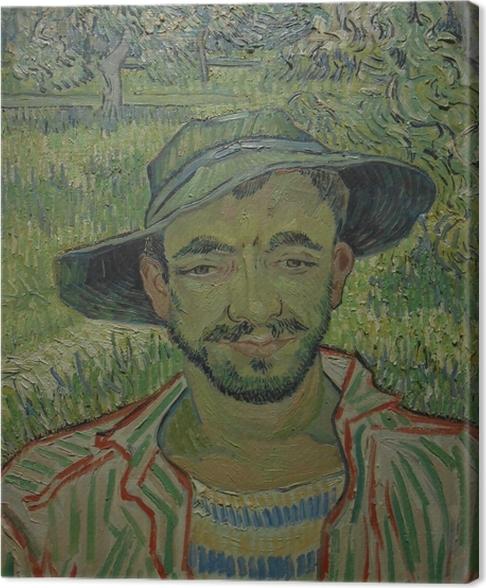 Obraz na płótnie Vincent van Gogh - Ogrodnik - Reproductions