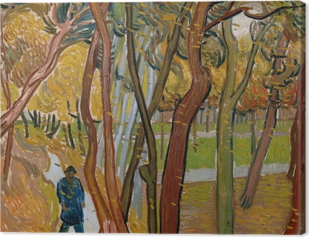 Obraz na płótnie Vincent van Gogh - Opadające liście - Reproductions