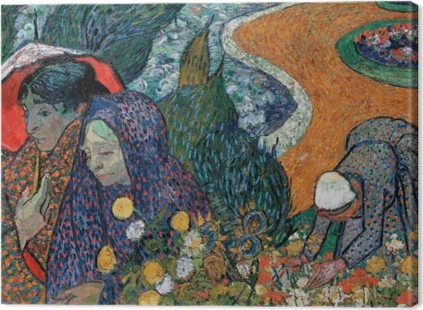 Obraz na płótnie Vincent van Gogh - Pamiątka z ogrodu w Etten - Reproductions