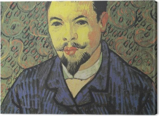 Obraz na płótnie Vincent van Gogh - Portret doktora Felixa Reya - Reproductions