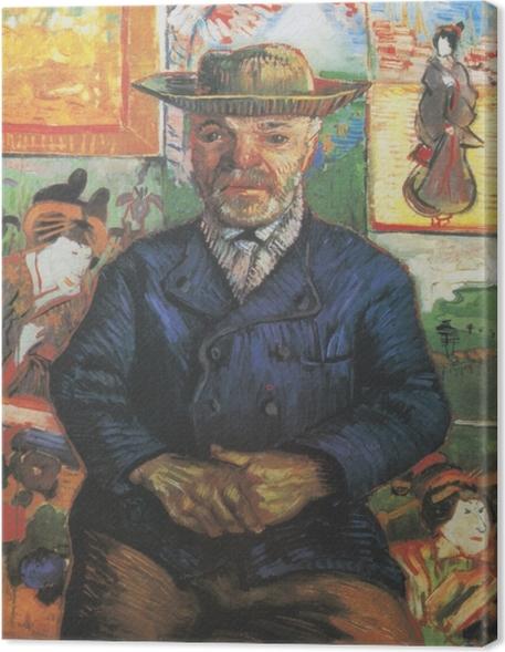 """Obraz na płótnie Vincent van Gogh - Portret """"Ojca"""" Tanguy - Reproductions"""