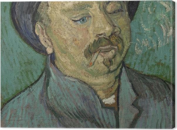 Obraz na płótnie Vincent van Gogh - Portret osamotnionego mężczyzny - Reproductions