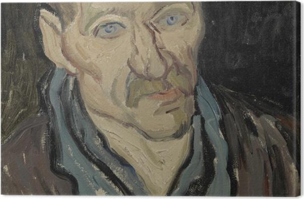 Obraz na płótnie Vincent van Gogh - Portret pacjenta szpitala św. Pawła - Reproductions