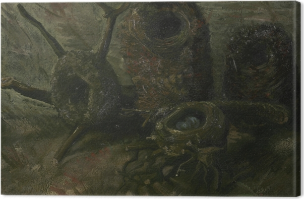 Obraz na płótnie Vincent van Gogh - Ptasie gniazda - Reproductions