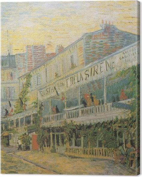 Obraz na płótnie Vincent van Gogh - Restauracja Syrena w Asnieres - Reproductions