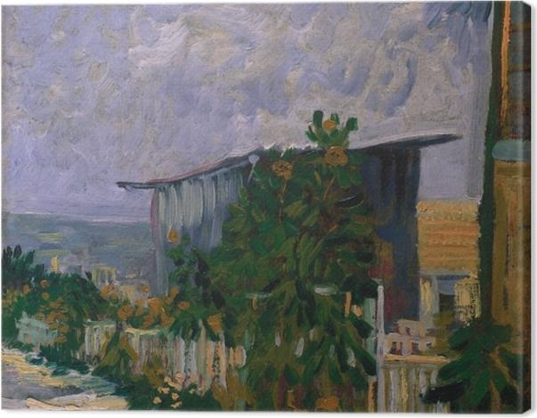Obraz na płótnie Vincent van Gogh - Schronisko na Monmartre - Reproductions