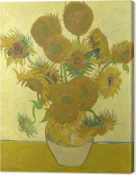Obraz na płótnie Vincent van Gogh - Słoneczniki - Reproductions