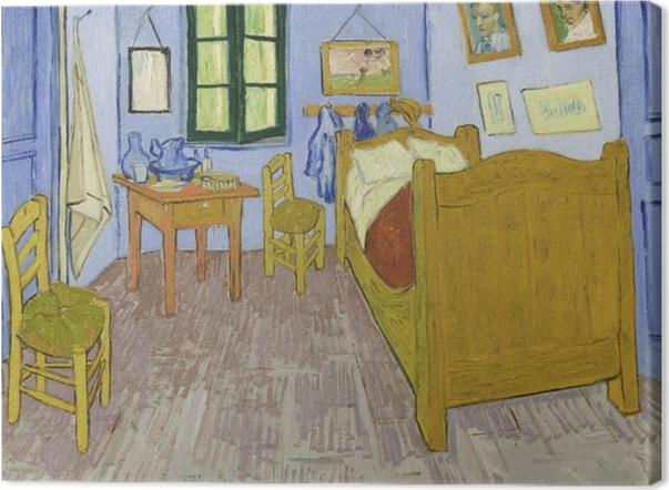 Obraz na płótnie Vincent van Gogh - Sypialnia w Arles - Reproductions