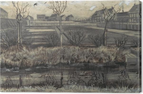 Obraz na płótnie Vincent van Gogh - Szkółka w Schenkweg - Reproductions