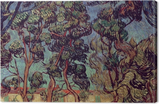 Obraz na płótnie Vincent van Gogh - Szpital św. Remigiusza - Reproductions