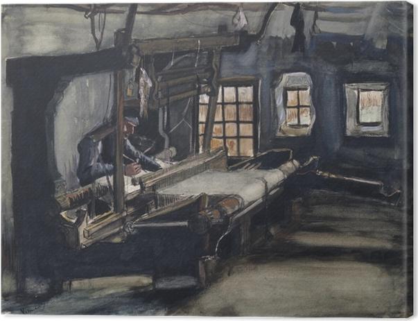 Obraz na płótnie Vincent van Gogh - Tkacz - Reproductions
